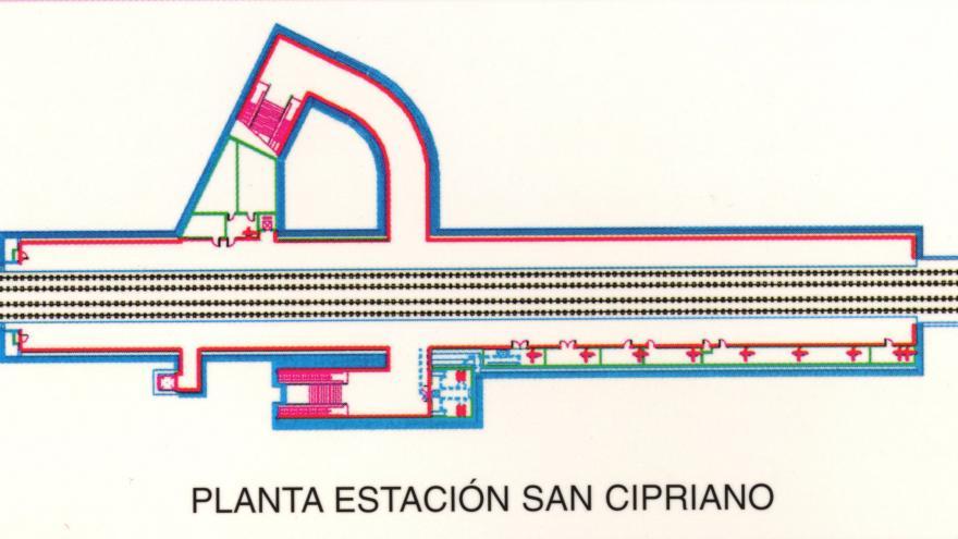 Planta estación San Cipriano