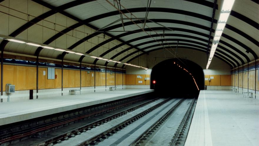 Andenes estación Alto de Extremadura