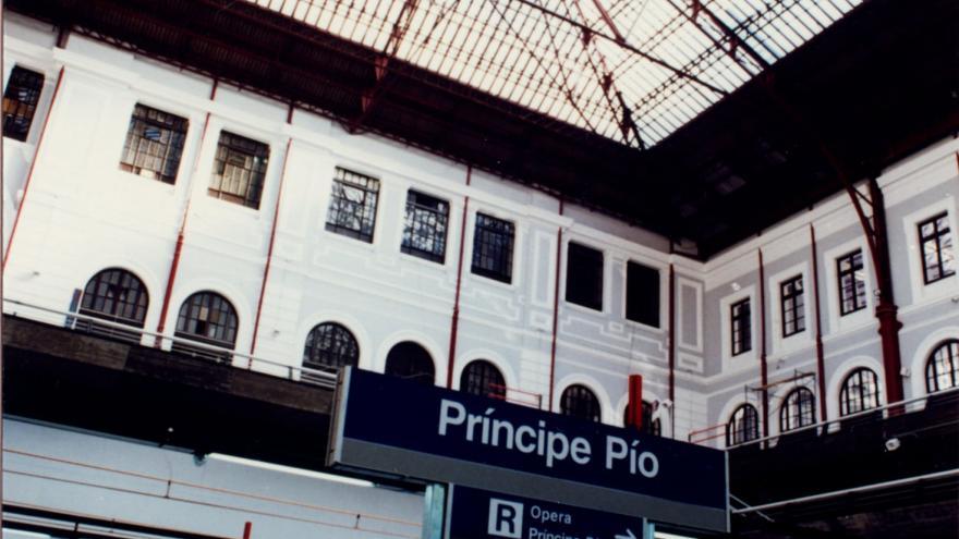 Integración de la estación en el antiguo edificio