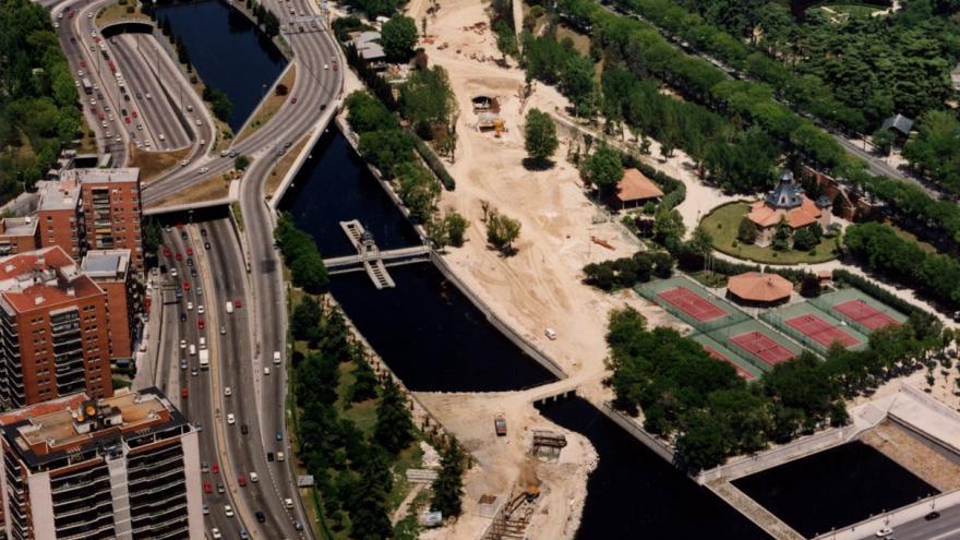 Cruce bajo el río Manzanares 21/05/1993