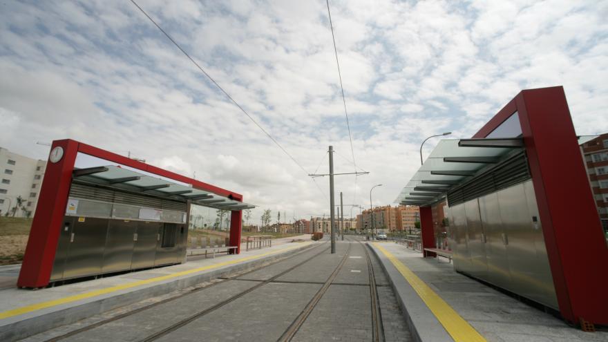 Estación en superficie
