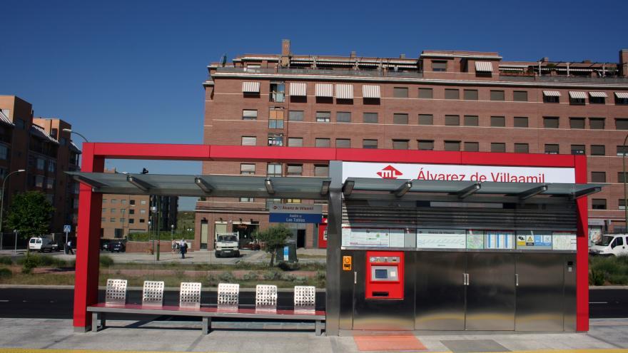 Estación Álvarez Villaamil