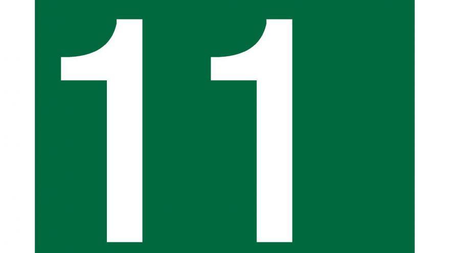 Logo Línea 11 de Metro