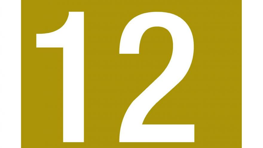 Logo Línea 12 de Metro