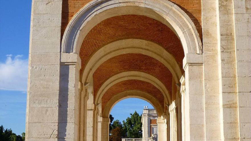 Arcada del Palacio.Aranjuez