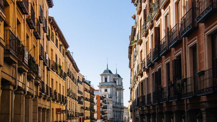 Calle Toledo.Madrid