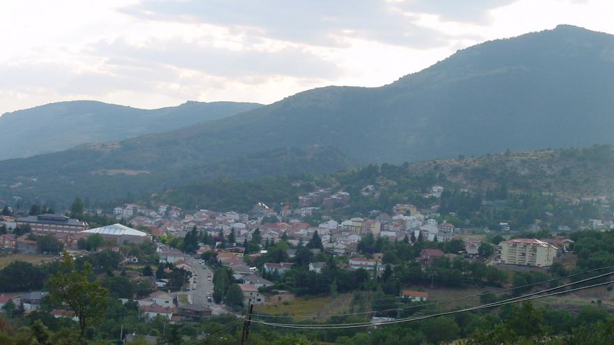 Cercedilla.Views of the town