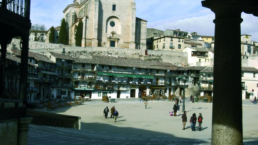 Chinchón, plaza mayor