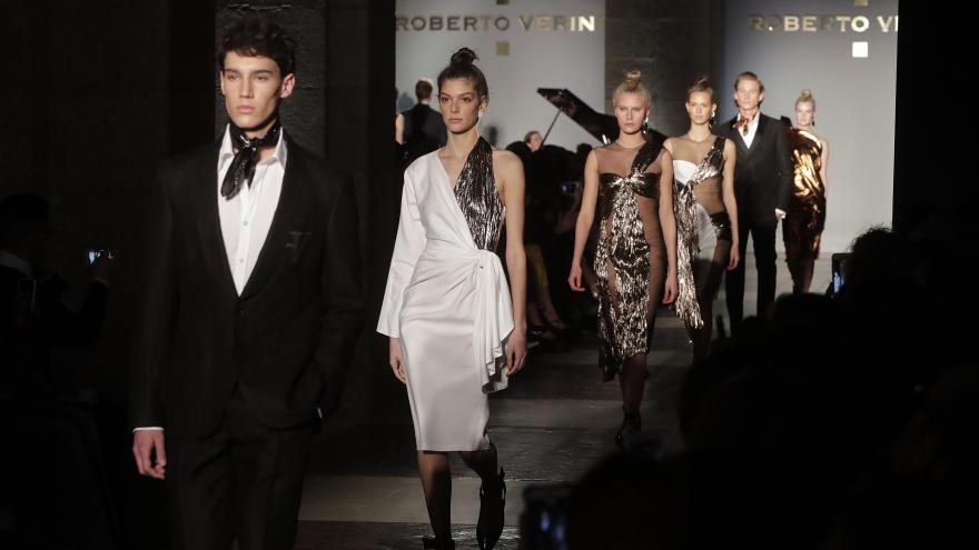 Desfile de moda en Madrid