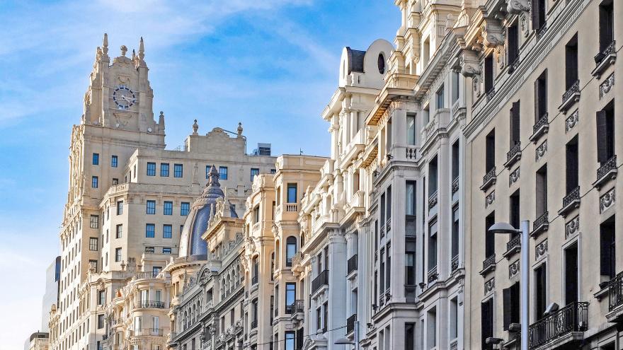 Edificios de la Gran Vía.Madrid