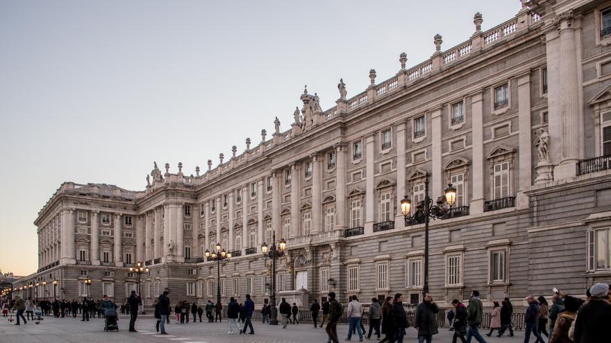 Invierno.Palacio Real Madrid