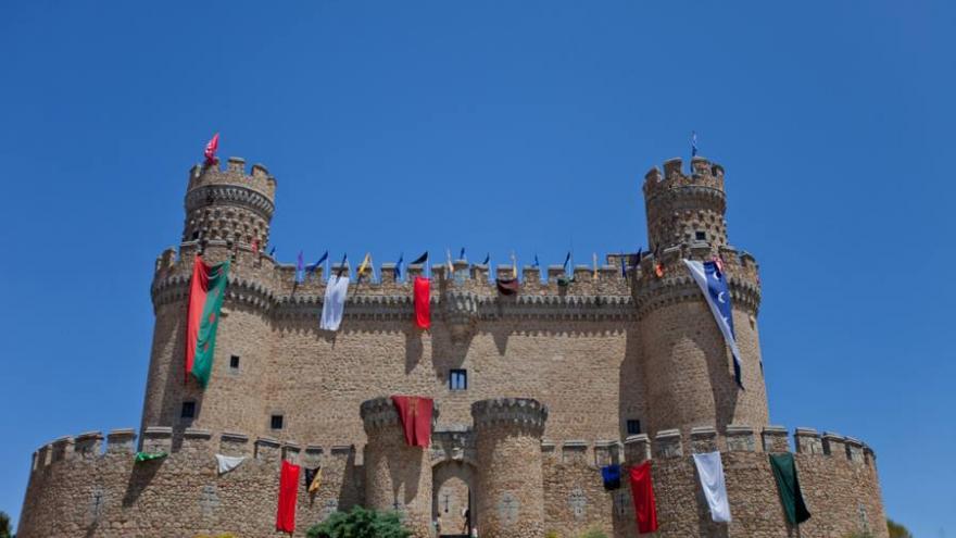 Mercado medieval Castillo Manzanares El Real