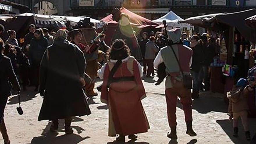 Mercado medieval artesano de Chinchón