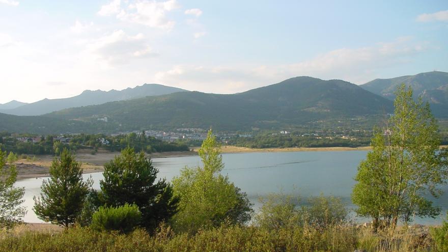 Views of Navacerrada in summer