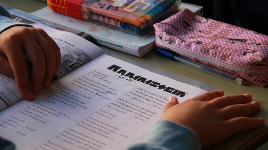 Libro de texto en alemán
