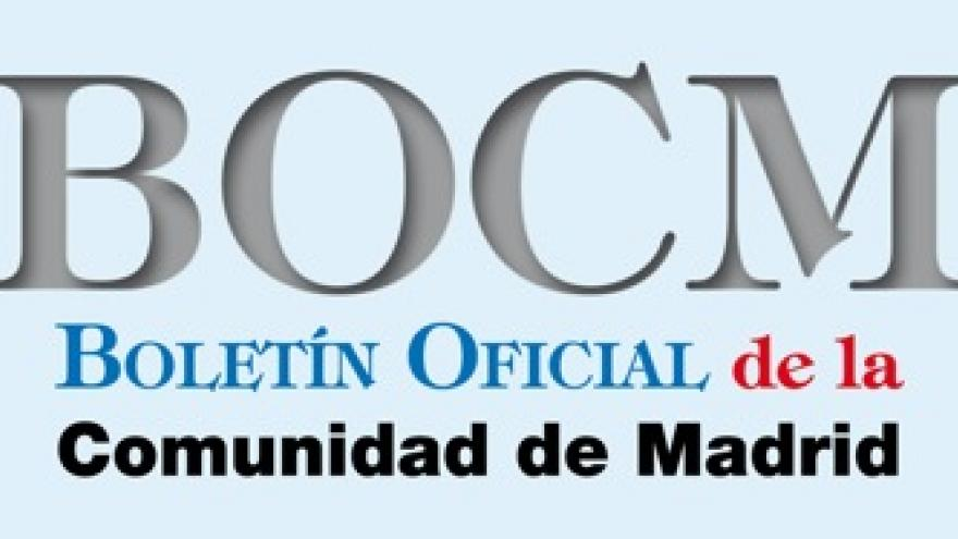 Logo del Boletín Oficial de la Comunidad de Madrid