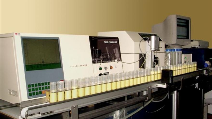 Control lechero en el Instituto Madrileño de Investigación y Desarrollo Rural, Agrario y Alimentario (IMIDRA)