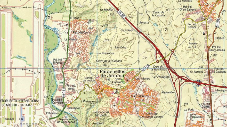 Consulta mapas topográficos e históricos de la Comunidad de Madrid