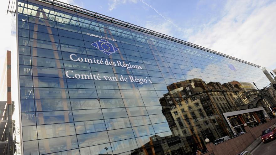 Comité de las Regiones. Edificio Jacques Delors. Bruselas