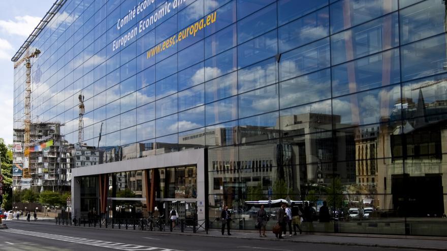 Comité Económico y Social Europeo. Edificio Jacques Delors. Bruselas