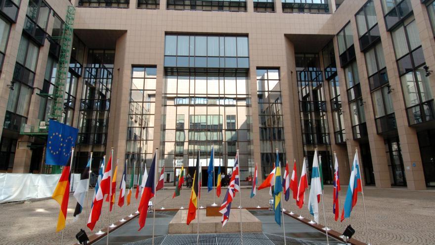 Edificio Justus Lipsius. Consejo de la Unión Europea. Bruselas. © European Communities, 2004 / Source: EC - Audiovisual Service / Photo: Christian Lambiotte
