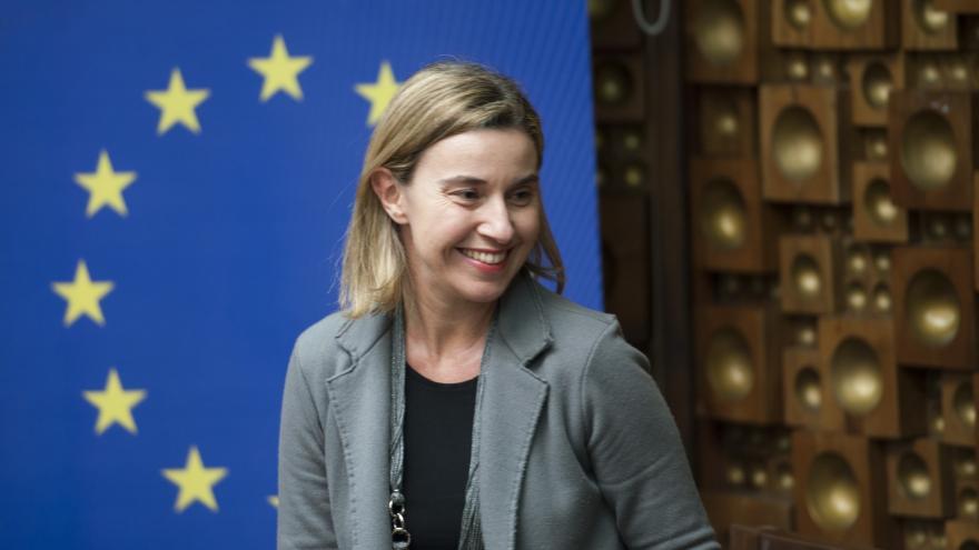 Federica Mogherini. Alta Representante para Asuntos Exteriores y Política de Seguridad. © European Union, 2015 / Source: EC - Audiovisual Service / Photo: Armend Nimani