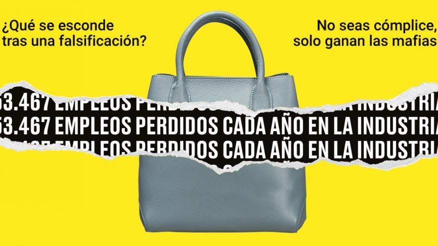 Campaña venta ilegal Ayuntamiento Madrid bolso