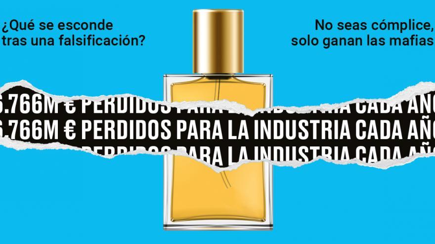 Campaña venta ilegal Ayuntamiento Madrid perfume