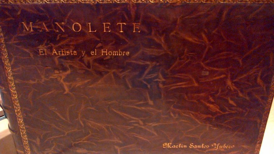 El álbum de Santos Yubero sobre Manolete