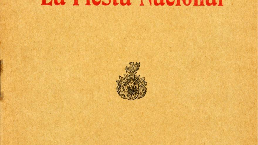 """Portada de """"La Fiesta Nacional"""" de Manuel Machado"""
