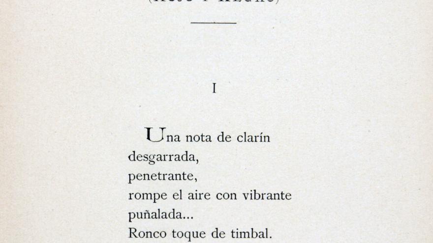 Poema de Manuel Machado