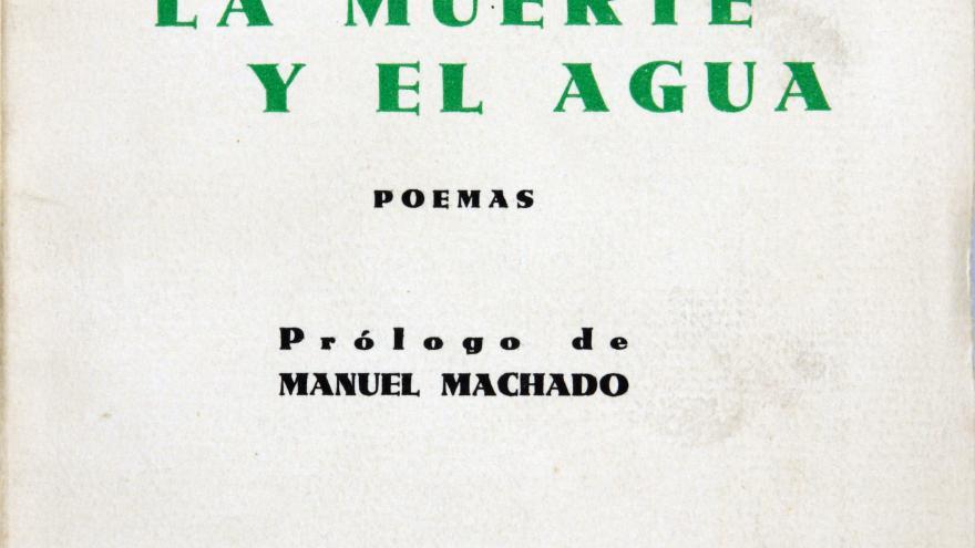 """Portada """"El toro, la muerte y el agua"""" de Agustín de Foxá"""