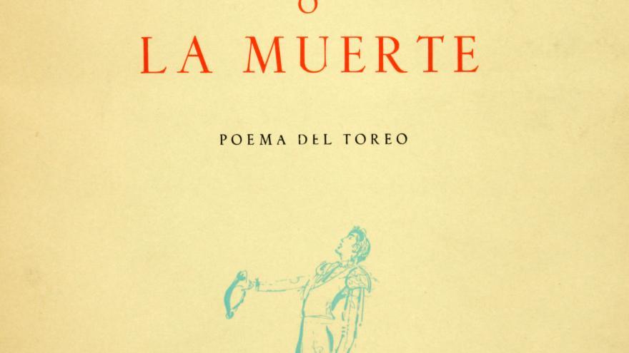 """Portada de """"La suerte o la muerte"""" de Gerardo Diego"""