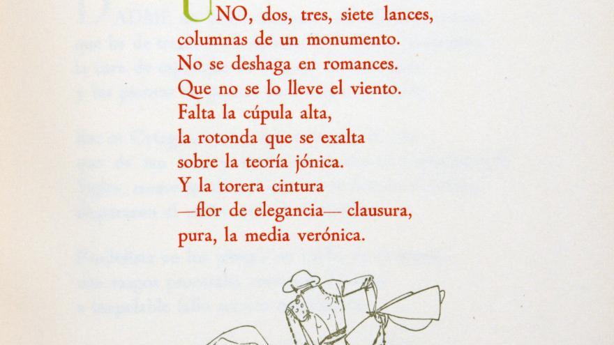 """Poema de """"La suerte o la muerte"""" de Gerardo Diego"""