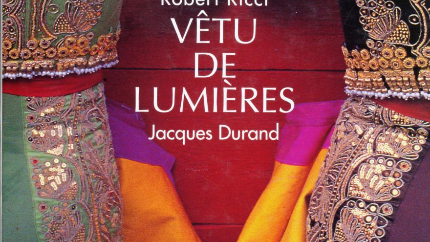 Libro sobre el traje de luces... ¡en francés!