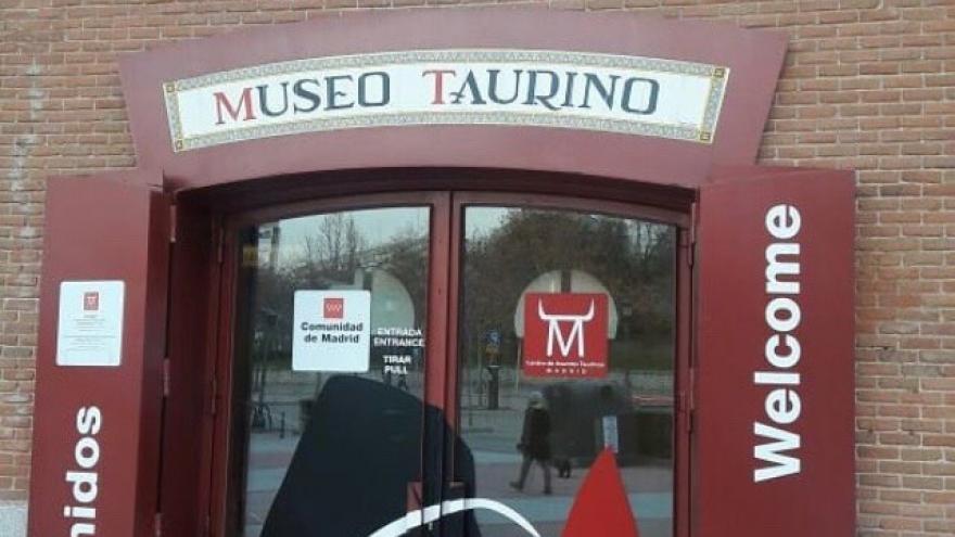 Entrada al Museo Taurino de Las Ventas
