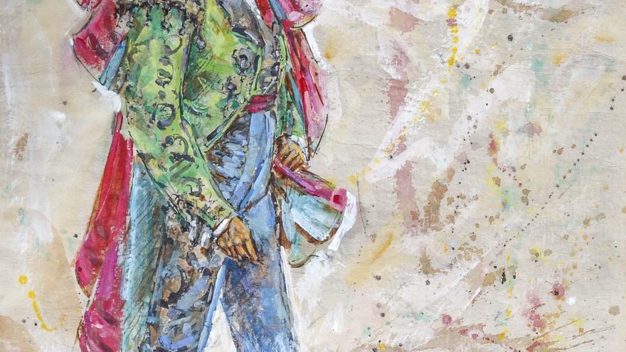 Humberto Parra, artista elegido para ilustrar el cartel de la corrida Goyesca del 2 de mayo