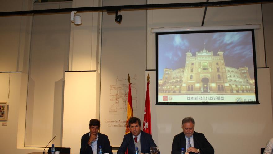 """Presentación de """"Camino hacia Las Ventas"""""""