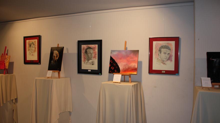 Exposición conjunta de Alfonso Rey y Paloma Velarde