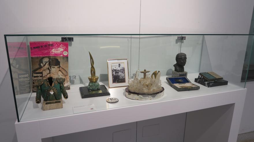 Exposición-homenaje a Dámaso González en Las Ventas (Fotografía de Manuel Durán)