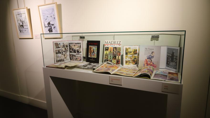 """Exposición """"Del ruedo al cómic"""" en Las Ventas (Fotografía de Manuel Durán)"""