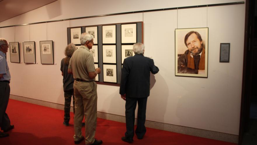 Exposición de Isidro Parra