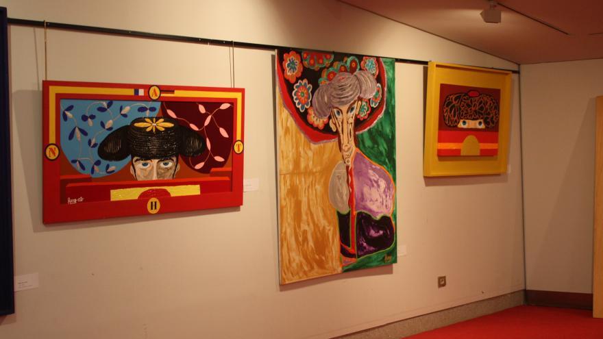 Exposición de Juan E. Mendoza