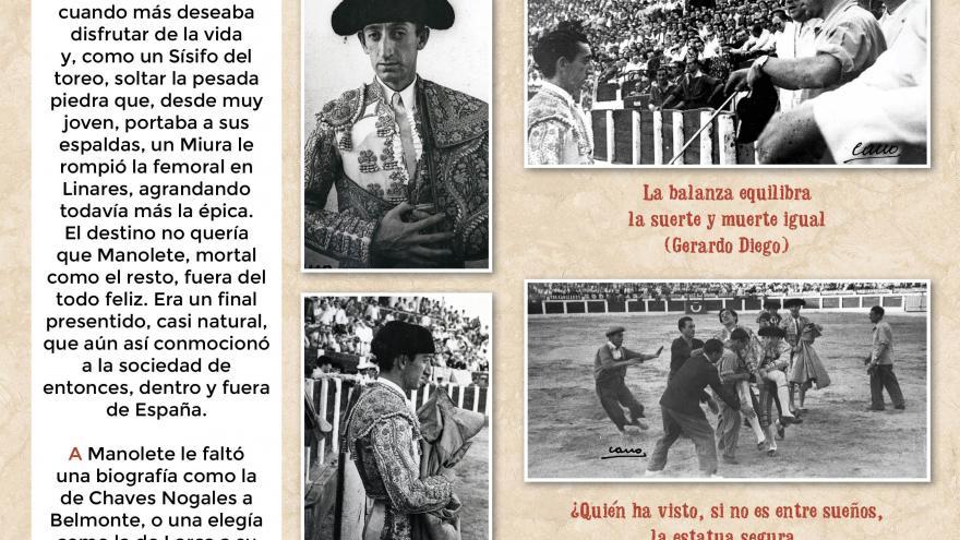 Manolete (11). Centro de Asuntos Taurinos de la Comunidad de Madrid
