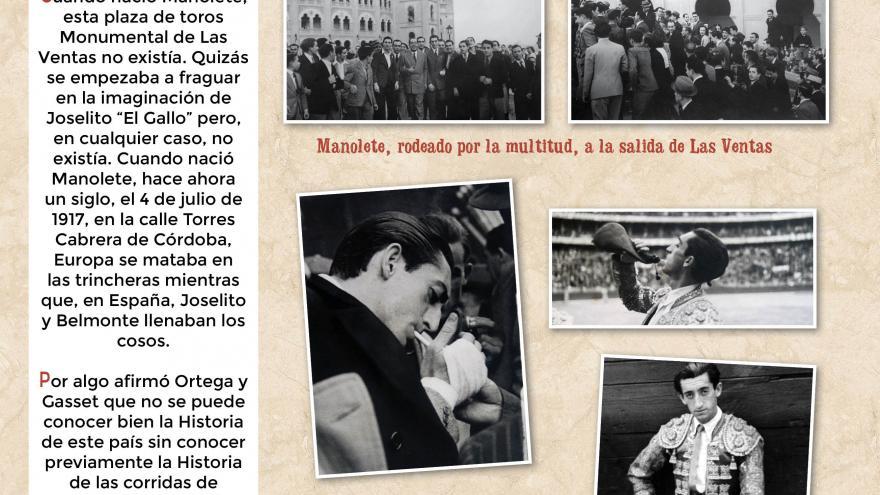 Manolete (2). Centro de Asuntos Taurinos de la Comunidad de Madrid