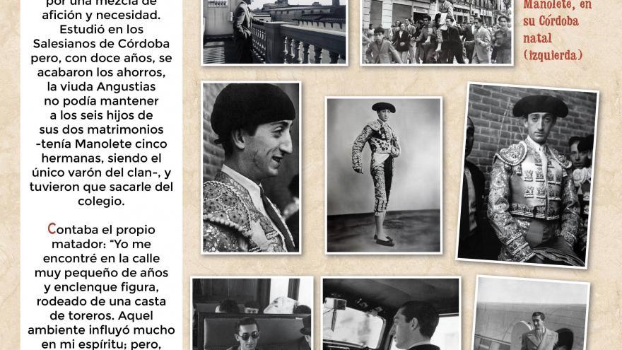 Manolete (4). Centro de Asuntos Taurinos de la Comunidad de Madrid