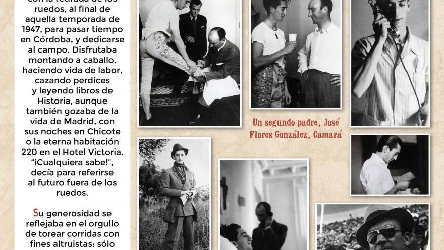 Manolete (8). Centro de Asuntos Taurinos de la Comunidad de Madrid