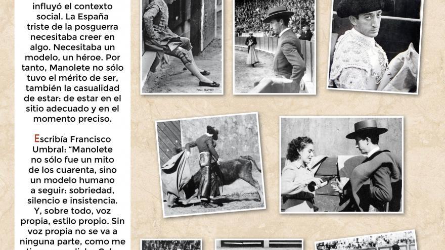 Manolete (9). Centro de Asuntos Taurinos de la Comunidad de Madrid