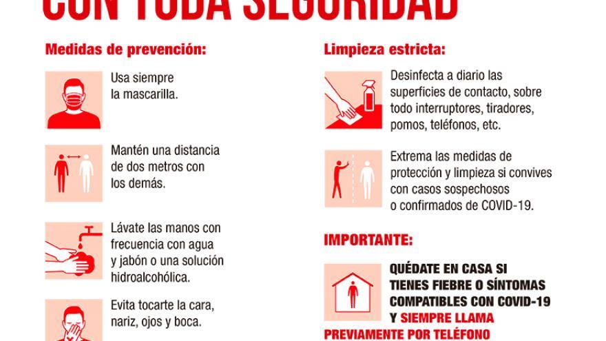 Cartel Coronavirus prevención