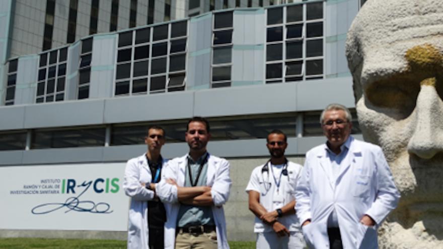 Imagen de parte del Servicio de Medicina Interna del Hospital Universitario Ramón y Cajal